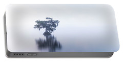 Cypress In Heavy Fog Portable Battery Charger