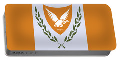 Portable Battery Charger featuring the drawing Cyprus Coat Of Arms by Movie Poster Prints