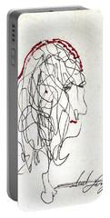Da Vinci Drawing Portable Battery Charger