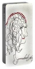 Da Vinci Drawing Portable Battery Charger