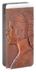 Da Vinci Girl Portable Battery Charger