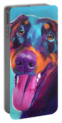 Doberman - Annie Portable Battery Charger