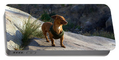 Dachshund's Delight Portable Battery Charger