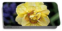 Portable Battery Charger featuring the photograph Daffodil Dallas Arboretum by Diana Mary Sharpton