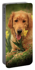 Portable Battery Charger featuring the photograph Daffodil Dreams by Kim Henderson