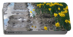 Daffodil Reflection Portable Battery Charger