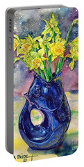 Daffodil Spray Portable Battery Charger