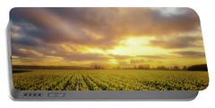 Daffodil Sunset Portable Battery Charger
