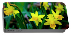 Daffodils A Symbol Of Spring Portable Battery Charger