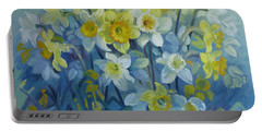 Daffodils Dance Portable Battery Charger
