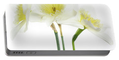Portable Battery Charger featuring the photograph Dafs by Rebecca Cozart