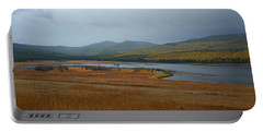 Dahl Lake In Autumn Portable Battery Charger