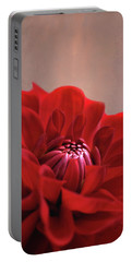Dahlia Dalliance  Portable Battery Charger by Marion Cullen
