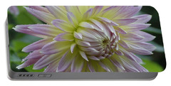 Dahlia Delight Portable Battery Charger by Shirley Heyn