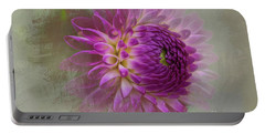 Dahlia Dream Portable Battery Charger