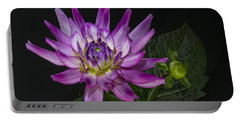 Dahlia Glow Portable Battery Charger