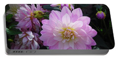 Dahlia In Powerscourt Portable Battery Charger