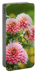 Dahlia Passion Fruit Portable Battery Charger