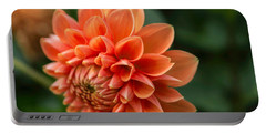 Dahlia Petals Portable Battery Charger