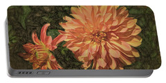 Dahlia Sketch Portable Battery Charger
