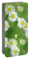 Daisies - Wild Flowers  Portable Battery Charger