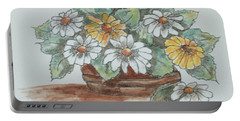 Daisy Craze Portable Battery Charger by Sharyn Winters