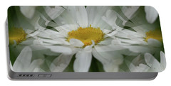 Daisy Dreams In White Portable Battery Charger