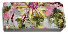 Daisies On Parade No. 1 Portable Battery Charger