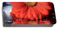 Daisy Reflections Portable Battery Charger by Angela Murdock