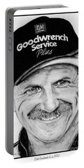 Dale Earnhardt Sr In 2001 Portable Battery Charger