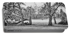 Dale - Foggy Morning Portable Battery Charger by Scott Hansen