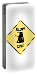 Dalek Crossing Portable Battery Charger