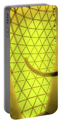Dali Museum Glass Roof In Yellow Portable Battery Charger