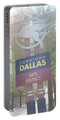 Dallas Arts District Portable Battery Charger