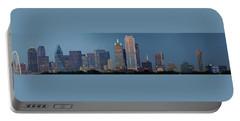 Dallas At Night Portable Battery Charger by Jonathan Davison