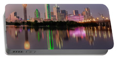 Dallas City Reflection Portable Battery Charger