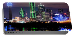 Dallas Cowboys Star Skyline Portable Battery Charger