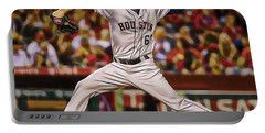 Dallas Keuchel Baseball Portable Battery Charger