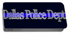 Dallas Police Dept. Blue Line Mug Portable Battery Charger