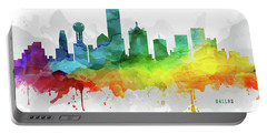 Dallas Skyline Mmr-ustxda05 Portable Battery Charger by Aged Pixel