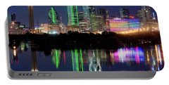 Dallas Skyline Reflection 91317 Portable Battery Charger