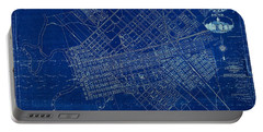 Dallas Texas Official 1875 City Map Blueprint Butterfield And Rundlett Portable Battery Charger