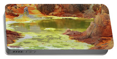 Dallol Volcanic Crater Portable Battery Charger