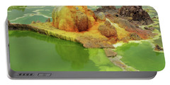 Dallol Volcanic Crater, Ethiopia Portable Battery Charger