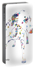 Dalmatian Portable Battery Charger