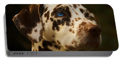 Dalmatian - Painting Portable Battery Charger