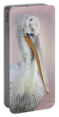 Dalmatian Pelican #2 V2 Portable Battery Charger