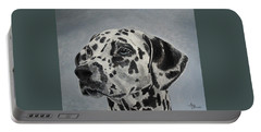 Dalmatian Portrait Portable Battery Charger
