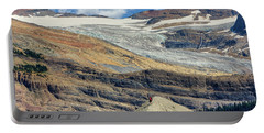 Daly Glacier And Yoho National Park Adventure Portable Battery Charger