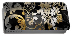 Damask Defined Portable Battery Charger